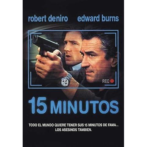 15 minutos De cartel De la película 11 x 17 en Argentina - 28 cm x 44 cm cisura calcarina Edward Burns Kelsey Grammer Avery Brooks Melina Kanakaredes Vera Farmiga