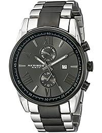 Akribos XXIV Reloj con movimiento cuarzo suizo Man AK812TTB 45 mm