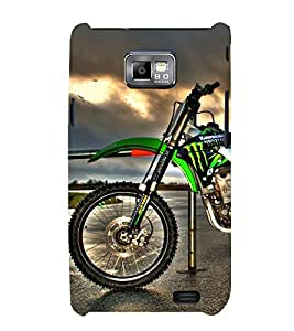 PrintVisa Sports Bike 3D Hard Polycarbonate Designer Back Case Cover for Samsung Galaxy S2 i9100 :: Samsung I9100 Galaxy S II