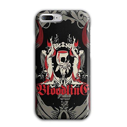 Blut Tod Horror Schädel Vampir Dame iPhone 8 Plus Hülle | (Und Blut Vampir Zubehör Sachen)