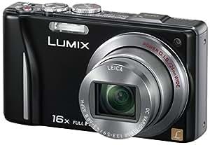 Panasonic Lumix DMC-TZ22EG-K Digitalkamera (14 Megapixel, 16-fach opt. Zoom, 7,5 cm (3 Zoll) Touch LC-Display, GPS, Full HD, 3D, bildstabilisiert) schwarz