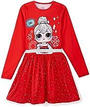 L O L Surprise! Vestido para Niñas, Falda de Tul Tutú de Ballet Brillante en 3D, Vestido de Manga Larga Prince