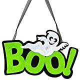 Nonwoven Door Hangings,Halloween fashion Hanging Ornament for Gift(1PC)(BOO!,BOO!)