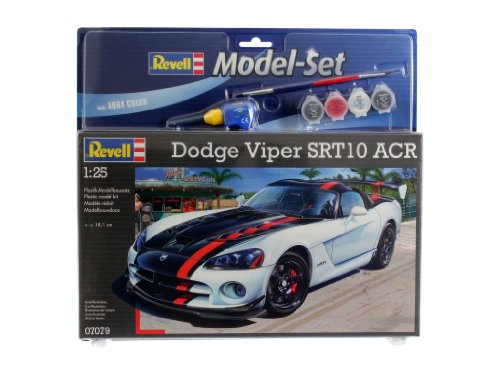 revell-modellbausatz-auto-125-dodge-viper-srt10-acr-im-massstab-125-level-4-originalgetreue-nachbild