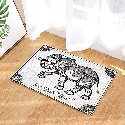 ZZZdz La Pintura de Elefantes de Estilo Indio representa Las alfombras de...