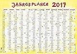 Jahresplaner Cartoon XL 2017 - Wandplaner / Plakatkalender (99 x 69)