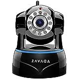 ZAVACA 1080P(1920x1080) Wireless WiFi IP Camera,Home Security Wireless Network Cam with Pan/Tilt/Zoom ,Two-Way Audio (Black)