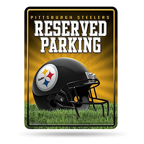 ments Metall Parken Schild, Pittsburgh Steelers, S ()