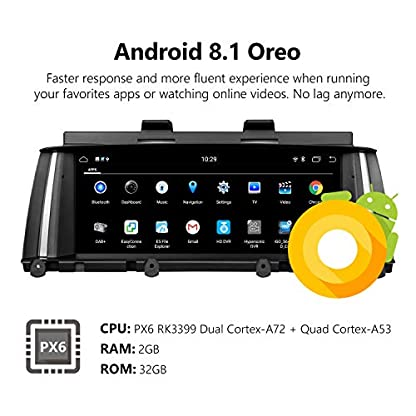 eonon-GA9205NB-Android-81-fit-BMW-X3-F25-X4-F26-2014-2016-NBT-Audio-Stereo-Untersttzung-Apple-Android-Auto-Play-Retain-iDrive-System-Bluetooth-SWC-Backup-Cam-88-Blendschutz-HD-Touchscreen-GPS