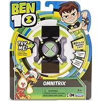 Ben 10 Basic Omnitrix Reloj con luz y Sonido Color Negro, Verde, Gris, Blanco Miscelanea Giochi Preziosi Spagna BEN04000