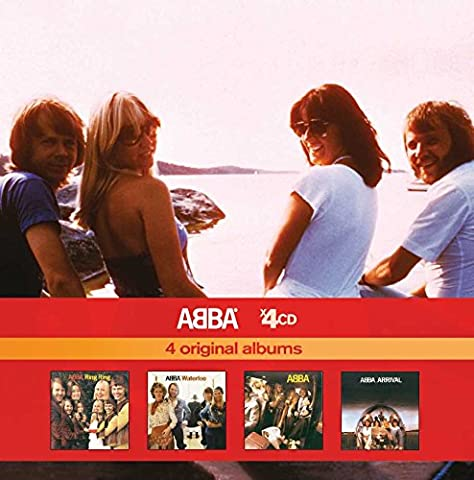 Waterloo/ABBA/Arrival/Ring Ring (Coffret 4 CD)