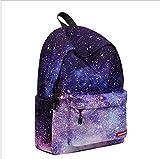 YEAH67886casual da scuola Galaxy Shape retro zaino unisex moda zaino borsa da viaggio zaino per laptop immagine