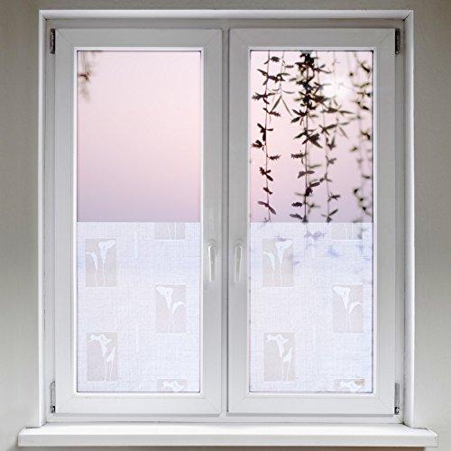 Artefact® Dekofolie / Fensterfolie Mesh | statisch haftend (ohne Kleber) | verschiedene Größen