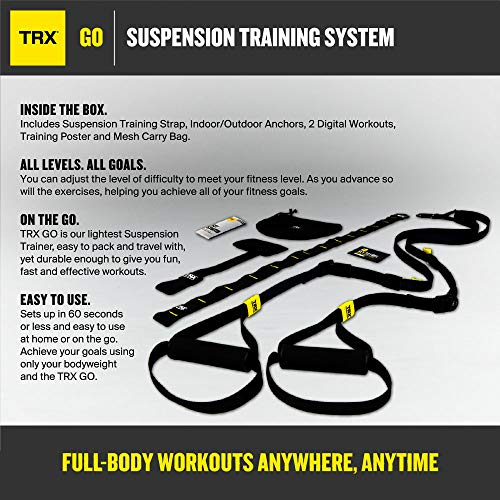 Zoom IMG-1 trx go suspension trainer kit