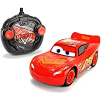 Dickie Toys 203084003 - RC Cars 3 Turbo Racer Lightning McQueen, RC-Fahrzeug, ferngesteuertes Auto, 1:24, 17cm