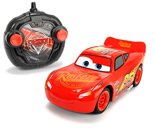 Smoby Majorette - 203084003 - Cars 3 - Voiture Radio Commandée - Turbo Racer Lightning...