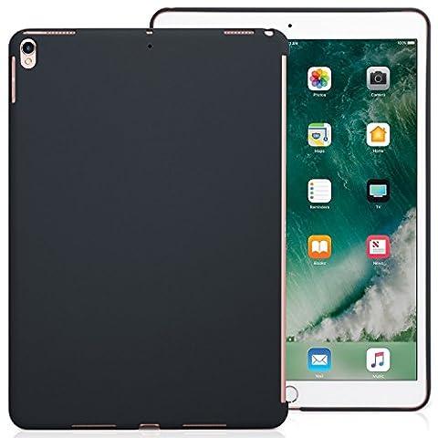 iPad Pro 10.5 Case Back Cover Grau Dunkelgrau - KHOMO Hülle Schutzhülle Backcover für Apple iPad Pro 10.5 Zoll Kompatibel mit Apple Smart Keyboard und Smart Cover - iPad Pro 10,5 Companion Grey