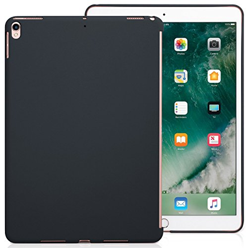iPad Pro 10.5 Case Back Cover Grau Dunkelgrau - KHOMO Hülle Schutzhülle Backcover für Apple iPad Pro 10.5 Zoll Kompatibel mit Apple Smart Keyboard und Smart Cover - iPad Pro 10,5 Companion Grey