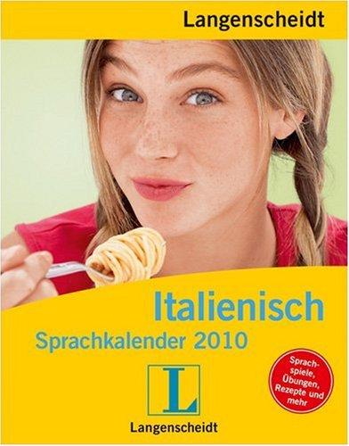 Langenscheidt Sprachkalender Italienisch 2010