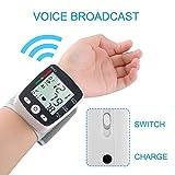 EasyBuy India Upper Arm Wrist Blood Pressure Monitor LCD Digital Display Automatic Wrist