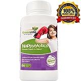 HappyBiotics hochdossierte Kinder Probiotika - natürliche Zucker, einmal täglich, 18-mal wirksamer als Kapseln Lactobacillus acidophilus und Bifidobacterium longum für Kinder im Alter von 2 und älter - leicht verdaulich. unterstützt Darmflora und immunsystem