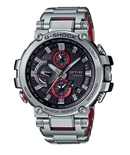 G-Shock By Casio Men\'s Analog MTGB1000D-1A Analog-Quartz Resin Watch Silver