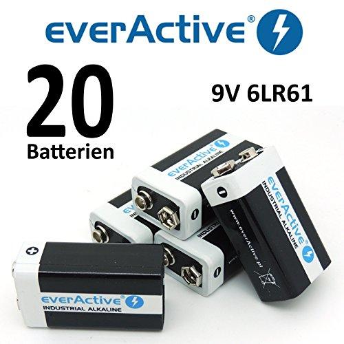 EA 9 V dans différentes tailles