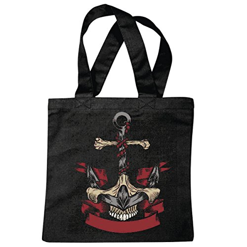 sac à bandoulière ANCRE SKULL PIRATE VOILIER VOILIER DIRECTION SKULL CORSAIR ANCRE SKULL PIRATE VOILIER VOILIER DIRECTION SKULL PIRATE SAILING Collektion SKULL CANCER DE DIRECTION BUCCANEER Segelschi