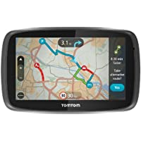 "TomTom GO 500 UK & Ireland - 5"" Sat Nav with Full UK & Ireland Lifetime Maps, Lifetime Traffic Updates, Smartphone Connected and Interactive Screen"