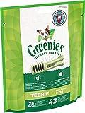 Greenies Teenie tägliche Zahnpflegesnacks, (1 x 340 g) 43 Kausnacks für Hunde von 2-7 kg
