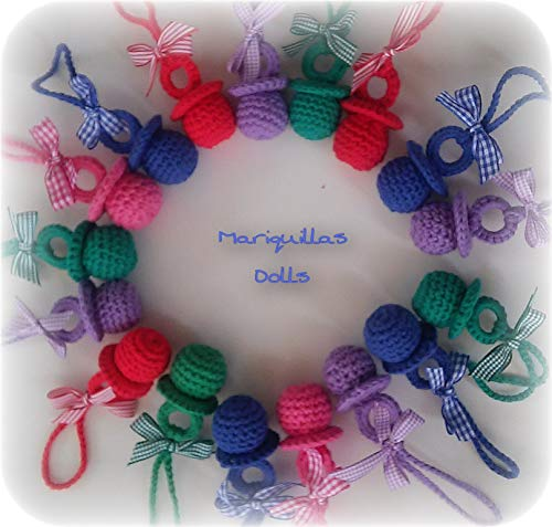 Chupete crochet. ENVÍO GRATIS partir 10 chupetes