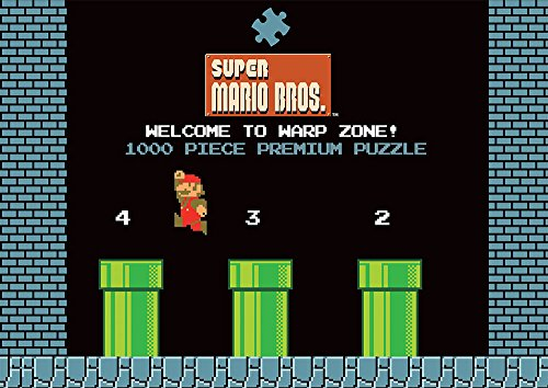 Super Mario Puzzle Welcome to Warp Zone USAopoly Puzzles