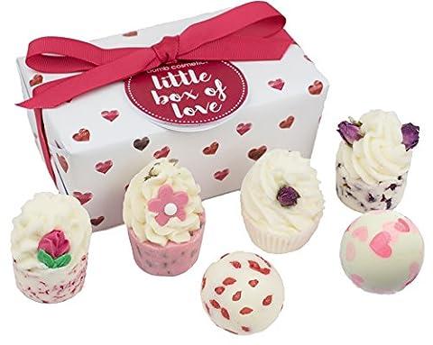 BOMB COSMETICS Little Box of Love Ballotin, Coffret Cadeau pour le Bain, 6 produits
