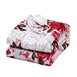 BUCKETLIST Polyester Double Electric Bed Warmer Under Blanket Double Bed Heating Electric Blanket
