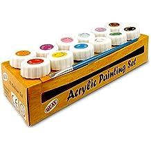 Acrílico Set De Pintura - Color De 12