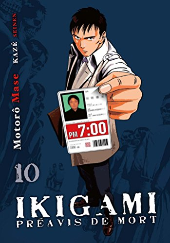 Ikigami, préavis de mort T10 par Motoro Mase
