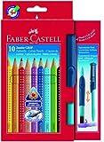 Faber-Castell 110914 - 10 Jumbo GRIP Buntstifte