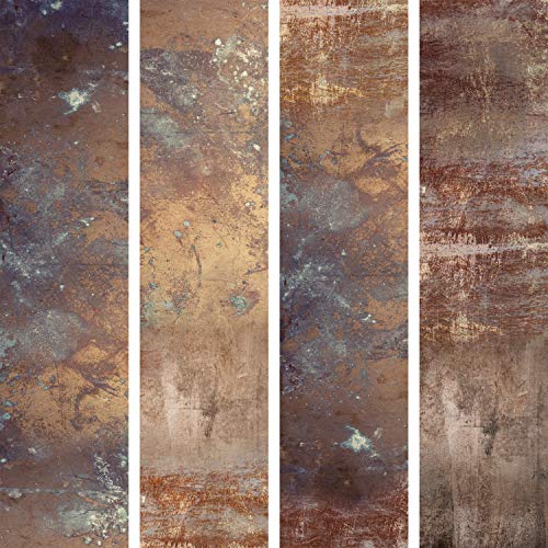 *murando – PURO TAPETE selbstklebend 10m Wandtattoo dekorative Möbelfolie Dekorfolie Fotofolie Panel Wandaufkleber Wandposter Wandsticker – Marmor Beton Modern Rostig f-C-0223-j-a*