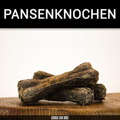 Pansenknochen - 10Stk. von George and Bobs Kauknochen aus 100{62e275a2215fbed93301333b54fcd0f61d2d34b6f071e1829d0b460f76dd6a38} Pansen