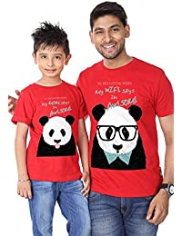 Bon Organik We are Awesome, Dad and Son New Years Best Family Matching  Father and f53fb9ad223e