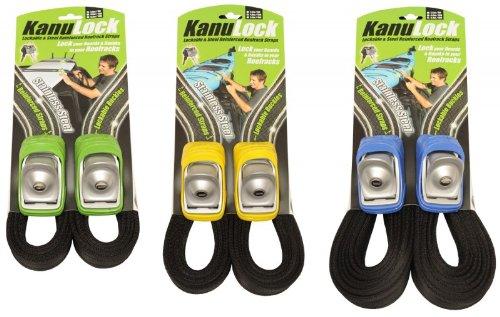 Kanulock Strap Snow/Surf/SUP/Tour - Sicherheits-Gurtbänder (Set), Länge:4m