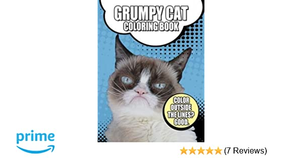 Grumpy Cat Coloring Book Dover Books For Children Amazoncouk 0800759791637