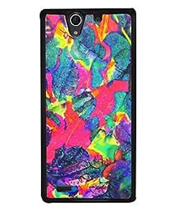 PrintVisa Designer Back Case Cover for Sony Xperia C4 Dual :: Sony Xperia C4 Dual E5333 E5343 E5363 (Texture Illustration Background Backcase Pouch Graphics)