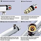 Interlink Duschthermostat thermostat Duscharmatur Mischbatterie Brausethermostat Thermostatventil Dusche - 7