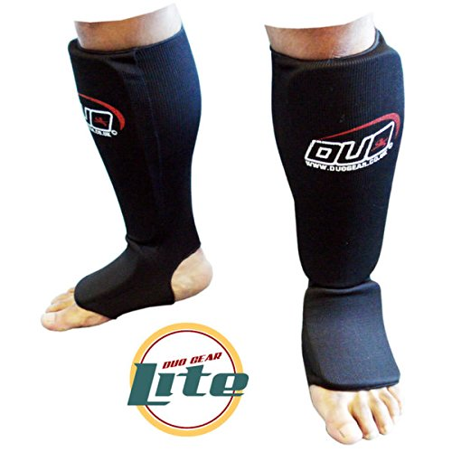 duo-gear-da-uomo-lite-karate-muay-thai-kickboxing-stinco-e-collo-del-piede-uomo-lite-muay-thai-black