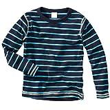 wellyou Ringel Langarm-Shirt blau-türkis , Farbe - D1 , Gr.140 - 146cm