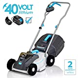 Best Cordless Lawn Mowers - Swift 40 V EB132C2 Cordless Digital Compact Lawn Review