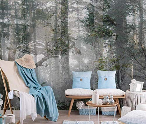 Fotomurali 3d annata della natura di boschi di foresta carta da parati 3d effetto moderna murale photo murali decorazione