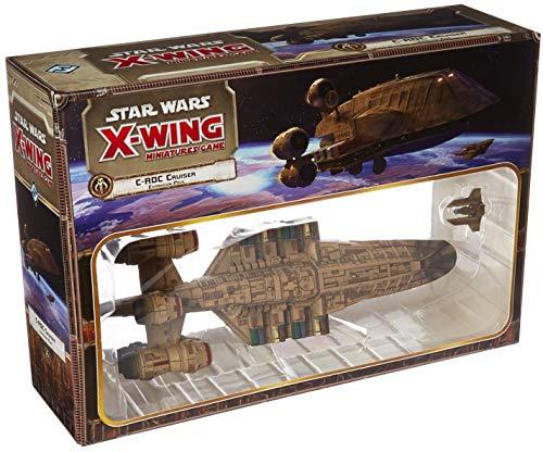 Fantasy Flight Games Star Wars X-Wing Juego de miniaturas: C-ROC Cruiser Pack de expansión