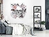 I-love-Wandtattoo WAS-12404 Florales Aquarell Wandtattoo